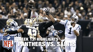 Download Panthers vs. Saints | Week 13 Highlights | NFL Video