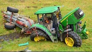 Download Тракторы выходят из под контроля! ⚠️ Аварии и спасения тяжелой техники! Video