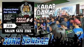 Download Kabar Damai 4 LION ATTACK Birowo, Binangun Blitar (AREMANIA PLAT AG) Video