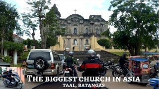 Download Taal Basilica Church, Batangas (biggest in Asia) │Breakfast at Tagaytay City (Tour 02) [ENG SUB] Video
