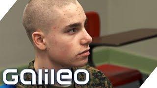Download Schüleraustausch extrem: Basti in der Military Academy | Galileo | ProSieben Video