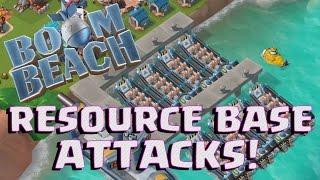 Download MAXED RESOURCE BASE TAKEDOWN!   Boom Beach   SMOKEY WARRIOR ATTACKS Video