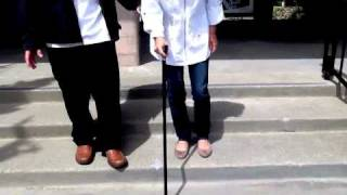 Download How to use a cane (PART 2) - Instructional Lesson Video