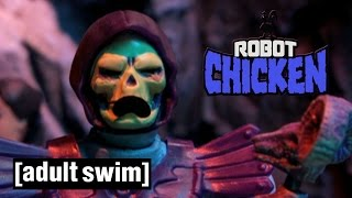 Download Skeletor leases Snake Mountain | Robot Chicken | Adult Swim Video
