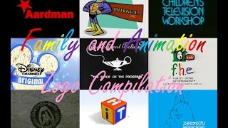 Download Family and Animation logos compilation Video