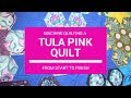 Download Machine Quilting A Tula Pink Quilt From Start to Finish - The ″Daytime″ Quilt Show Video