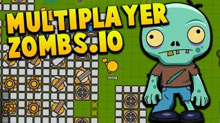 Download TEAM PLAY! - FREE Zombie Base Defense - ZOMBS.IO Gameplay Multiplayer #4 Video