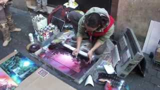 Download spray painting - enchanted forest and a fairy Video