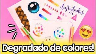 Download ¿Cómo degradar colores? ✄ Barbs Arenas Art! Video
