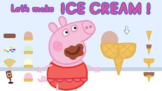Download Peppa Pig | Making Ice Cream Games| Cooking Games for Kids | Learn With Peppa Pig Video