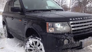 Download Range Rover 4.2 Supercharged SNOW Video