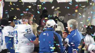 Download Middle Tennessee Celebrates A (2017) Camellia Bowl Game Victory Over Arkansas State Red Wolves Video