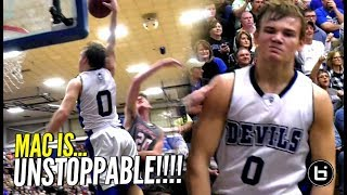 Download Mac McClung IS UNSTOPPABLE!!! Goes KOBE On Em w/ 41 Points To Win District Championship! Video