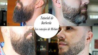 Download Tutorial de barbería: Cómo perfilar la línea inferior de la barba. Video