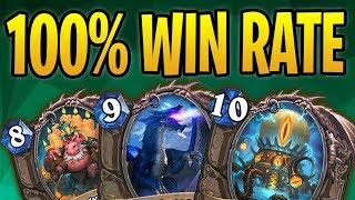 Download 100% Win Rate w/ TRIPLE THREAT Druid | 3x Win Condition Druid | The Boomsday Project | Hearthstone Video