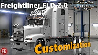 Download American Truck Simulator: NEW Freightliner FLD MOD - Full Customization Video
