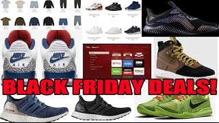 Download 2016 BEST BLACK FRIDAY SNEAKER / CLOTHING DEALS & MORE! Video