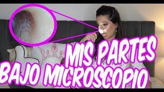 Download ASÍ SE VE MI CARA Y CUERPO BAJO DEL MICROSCOPIO - TAG - EL MUNDO DE CAMILA GUIRIBITEY Video