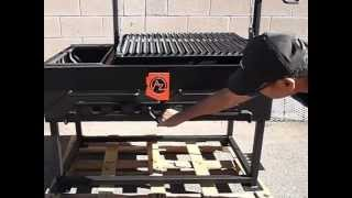 Download 48 x 24 Argentine Grill with Brasero. Video