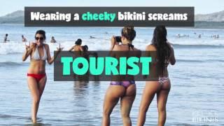 Download Where in the world can you wear Brazilian bikinis? Video