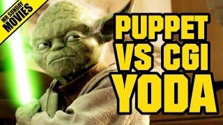 Download STAR WARS - Puppet Yoda VS CGI Yoda Video