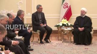 Download Iran: President Rouhani and Russian envoy Lavrentiev discuss cooperation in Syria Video