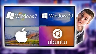 Download Four Operating Systems on ONE Monitor Video