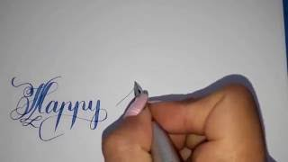 Download Creative TV / writting creative letters / happy birthday Video