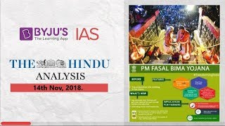 Download 'The Hindu' Analysis for Nov 14th, 2018. Video
