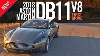 Download 2018 Aston Martin DB11 V8 First Drive Review Video