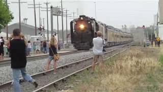 Download UP 844 Arriving in and Departing Greeley Video