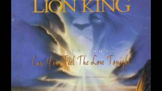 Download [Single] Can You Feel The Love Tonight - Can You Feel The Love Tonight? (Instrumental) Video