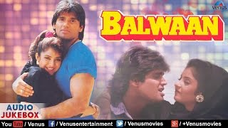 Download Balwaan - Bollywood Superhit Songs   Sunil Shetty & Divya Bharti   Audio Jukebox - Romantic Songs Video