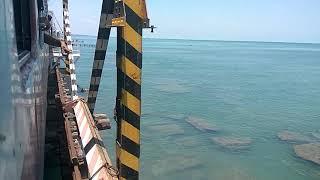 Download Pamban Bridge | Dangerous Railway Bridge | Rameswaram | Train over the Sea Video