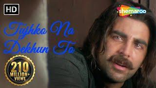 Download Tujhko Na Dekhun To Dil Ghabrata - Jaanwar Songs HD - Akshay Kumar - Udit Narayan - Gold songs Video