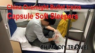 Download China bullet trains: Capsule soft sleepers Video