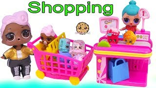 Download LOL Surprise Dolls Shopping At Shopkins Store + Surprise Blind Bags Video