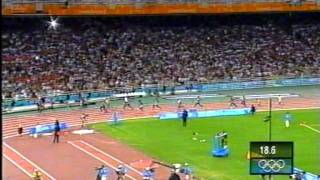 Download 2004 Athens Summer Olympics Mens 4x100 Relay UK win Gold Video