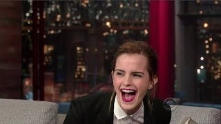 Download Emma Watson Interview - Late Night With David Letterman - 25th March, 2014 Video