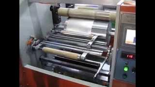 Download semi-automatic alu foil and cling film machine Video