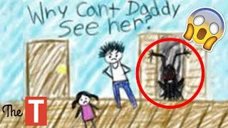 Download 20 Creepy Kid Drawings That Will Make You Laugh Video