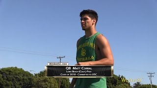 Download Matt Corral in action at the Long Beach Poly College Showcase Video