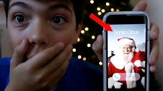 Download CALLING THE REAL SANTA CLAUS! *HE ANSWERED* OMG! Video