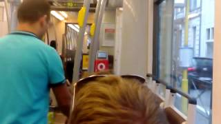 Download STIB/MIVB Bombardier/BN T2000 ride in Northern Brussels part 2 Video