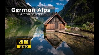 Download German Alps From Above MUST SEE Views: Berechtesgadener Land 4k | Königsee Video