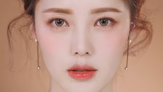Download Glowy Coral Makeup (With Subs) 촉촉 코랄 메이크업 Video