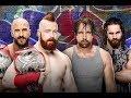 Download Sheamus & Cesaro vs Dean Ambrose & Seth Rollins | WWE Summerslam 2017 Video