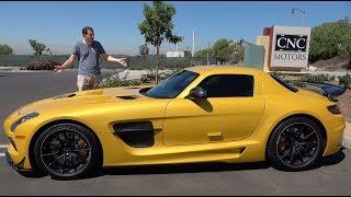 Download The Mercedes SLS AMG Black Series Is the Ultimate Mercedes Supercar Video