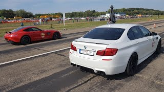 Download Manhart MH5 700 BMW M5 F10 - LOUD Revs & Drag Racing! Video
