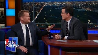 Download James Corden Had Dinner With Lin-Manuel Miranda, And Other Name-Drops Video